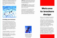 Download Brochure Template Microsoft Word 2007 Free within Brochure Templates For Word 2007