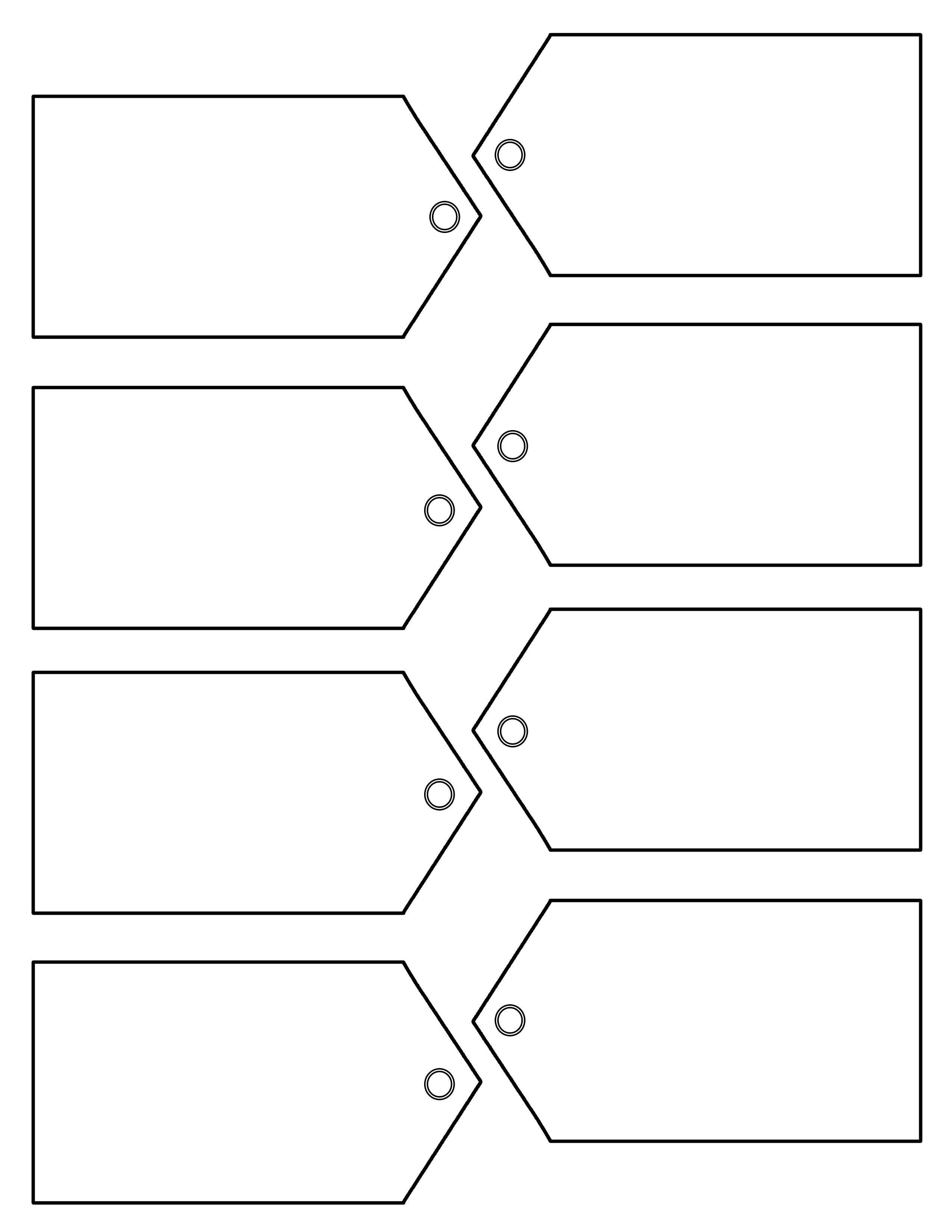 Download Christmas Traditional Tag Template On Right Here Intended For Blank Luggage Tag Template
