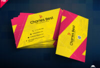 Download] Creative Business Card Free Psd   Psddaddy inside Calling Card Psd Template