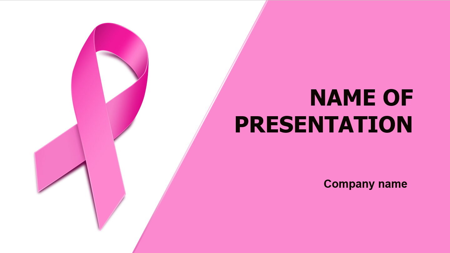 Download Free Breast Cancer Powerpoint Template And Theme For Free Breast Cancer Powerpoint Templates