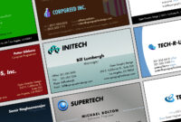 Download Free Business Card Templates And Business Card for Templates For Visiting Cards Free Downloads