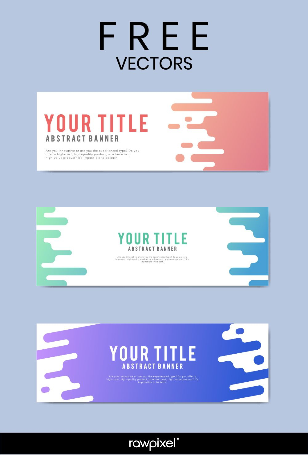 Download Free Modern Business Banner Templates At Rawpixel Inside Website Banner Templates Free Download