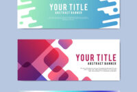 Download Free Modern Business Banner Templates At Rawpixel Within Free Website Banner Templates Download