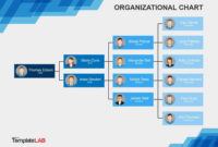 Download Org Chart Template Word 11 | Organizational Chart intended for Org Chart Template Word