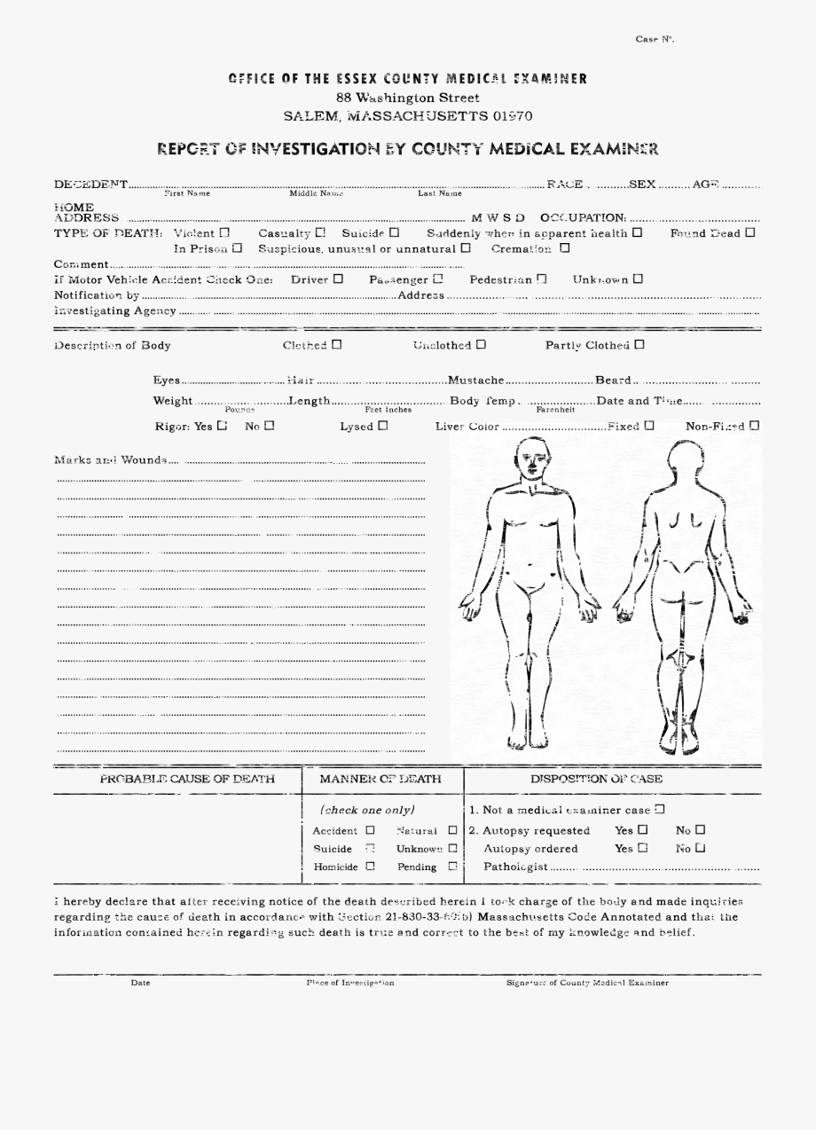 Downloads Cthulhu Reborn Miscellaneous - Autopsy Report Intended For Autopsy Report Template