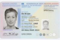 Dutch Identity Card – Wikipedia with regard to Georgia Id Card Template