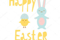 Easter Chick Templates   Happy Easter Greeting Card Template regarding Easter Chick Card Template