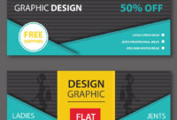 Ecommerce Web Banner Templates | Free Website Psd Banners intended for Free Website Banner Templates Download