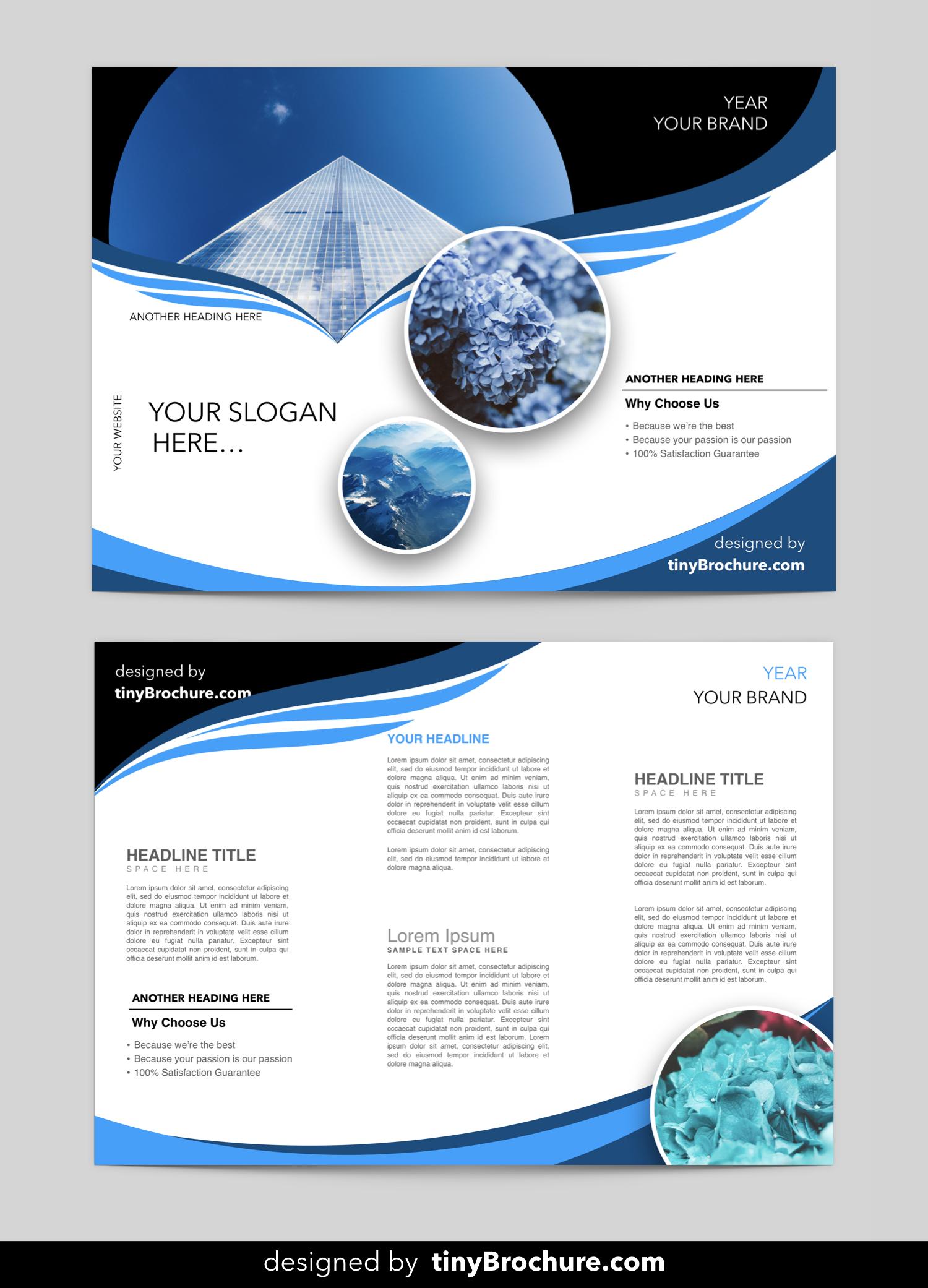 Editable Brochure Template Word Free Download | Brochure Pertaining To Brochure Templates For Word 2007