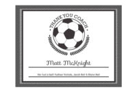 Editable Pdf Sports Team Soccer Thank You Coach Certificate with Soccer Certificate Template Free