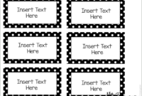 Editable Word Wall Templates | Word Wall Labels, Classroom with Free Label Templates For Word