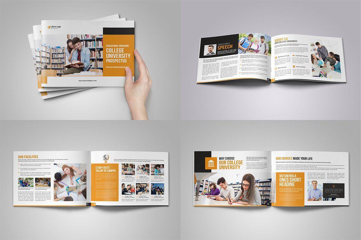 Education Prospectus Brochure Bundle #individual#template With Brochure Design Templates For Education