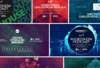 Electronic Music Event Facebook Post Banner Templates Psd intended for Event Banner Template