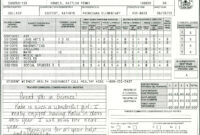 Elementary School Report Card Template | Homeschooling with Homeschool Report Card Template