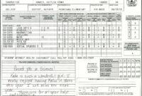 Elementary School Report Card Template | Homeschooling within High School Report Card Template