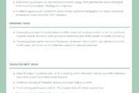 Employee Weekly Activity Report Template – Venngage throughout Monthly Activity Report Template