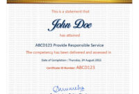 Entry #39Jackponco For Redesign A Certificate Template pertaining to Certificate Of Attainment Template
