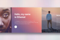 Ethereal – Free Html Template Review, Demo And Download regarding Html5 Blank Page Template