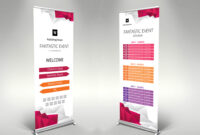 Event Roll-Up Banner Template – Themzy Templates in Event Banner Template