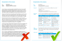 Examples - Information Mapping in Information Mapping Word Template