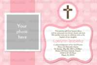 Examples-Of-Baptism-Invitations-In-Spanish | Baptism throughout Blank Christening Invitation Templates