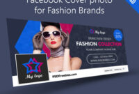 Facebook Cover Photo For Fashion Brands Free Psd throughout Facebook Banner Template Psd