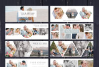 Facebook Template, Photography Marketing, Facebook Timeline with Photoshop Facebook Banner Template