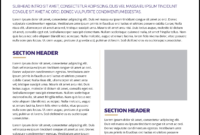 Fact Sheet | Uw Brand with Fact Sheet Template Word
