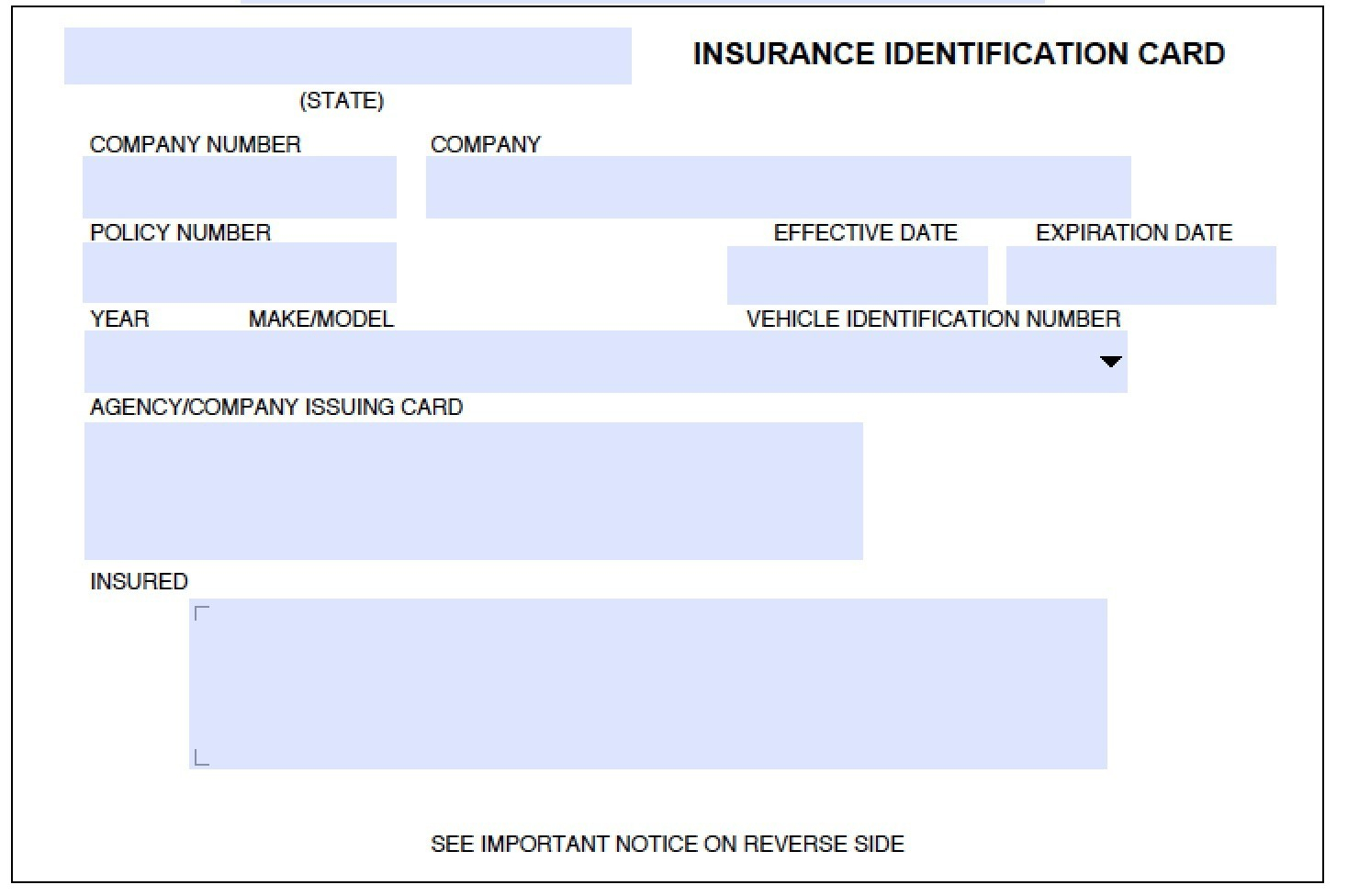Fake Insurance Card Template 11 Ingenious Ways You Can Do With Regard To Free Fake Auto Insurance Card Template