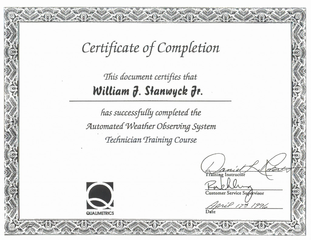 Fall Protection Certificate Template Proper Oshacademy Free With Fall Protection Certification Template
