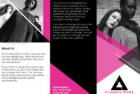 Fashion Brochure throughout Medical Office Brochure Templates