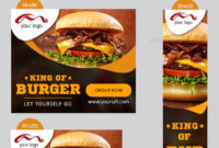 Fast Food Banner Graphics, Designs & Templates From Graphicriver intended for Food Banner Template