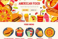 Fast Food Restaurant Menu Banner Template regarding Food Banner Template