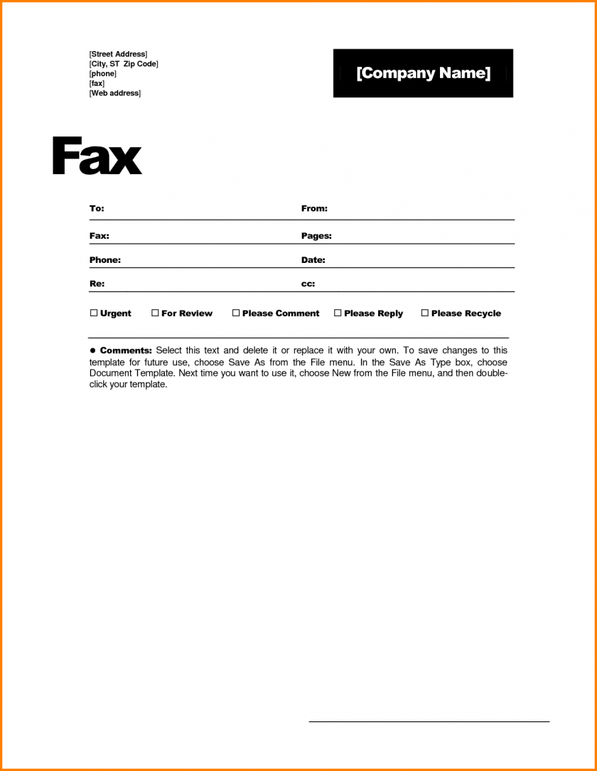 Fax Cover Sheet Template Word 2010 - Atlantaauctionco Inside Fax Template Word 2010