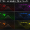 "Faze Nikan On Twitter: ""customizable Twitter Header Template Regarding Twitter Banner Template Psd"