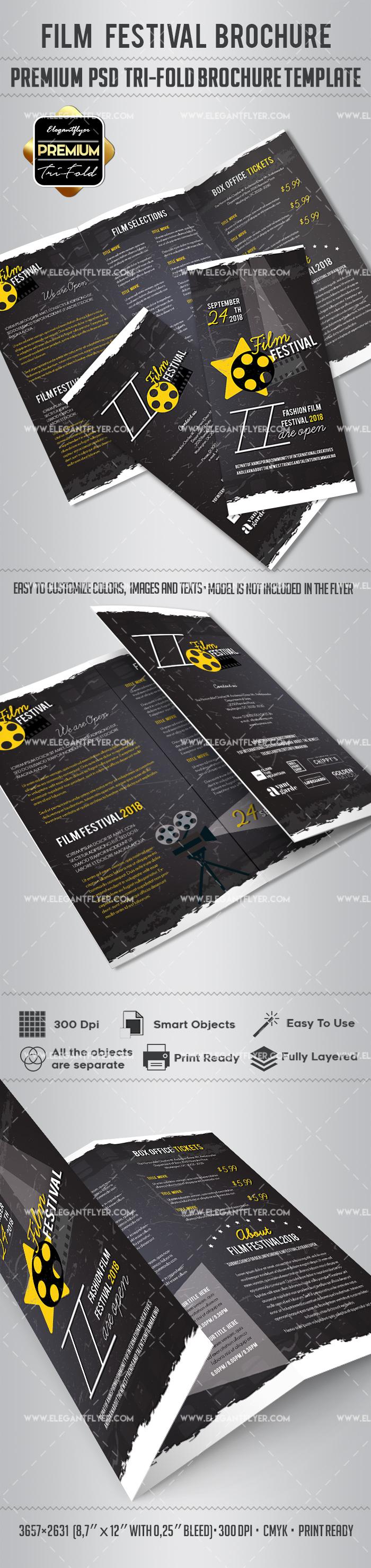 Film Festival Brochure Design Regarding Film Festival Brochure Template