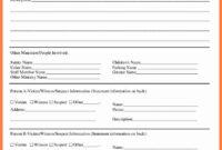 Fire Incident Report Form Doc Samples Format Sample Word in Incident Report Form Template Qld