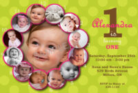 First Birthday Invitations Templates Free | Stuff To Buy inside First Birthday Invitation Card Template