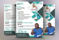 Fitness Flyer Template regarding Training Brochure Template