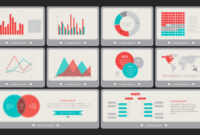 Flat Vintage Powerpoint Dashboard in Powerpoint Dashboard Template Free