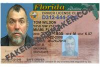 Florida Driver's License Fake Id Virtual pertaining to Florida Id Card Template