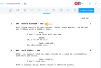 Formatting A Screenplay: How To Put Your Story Into inside Shooting Script Template Word