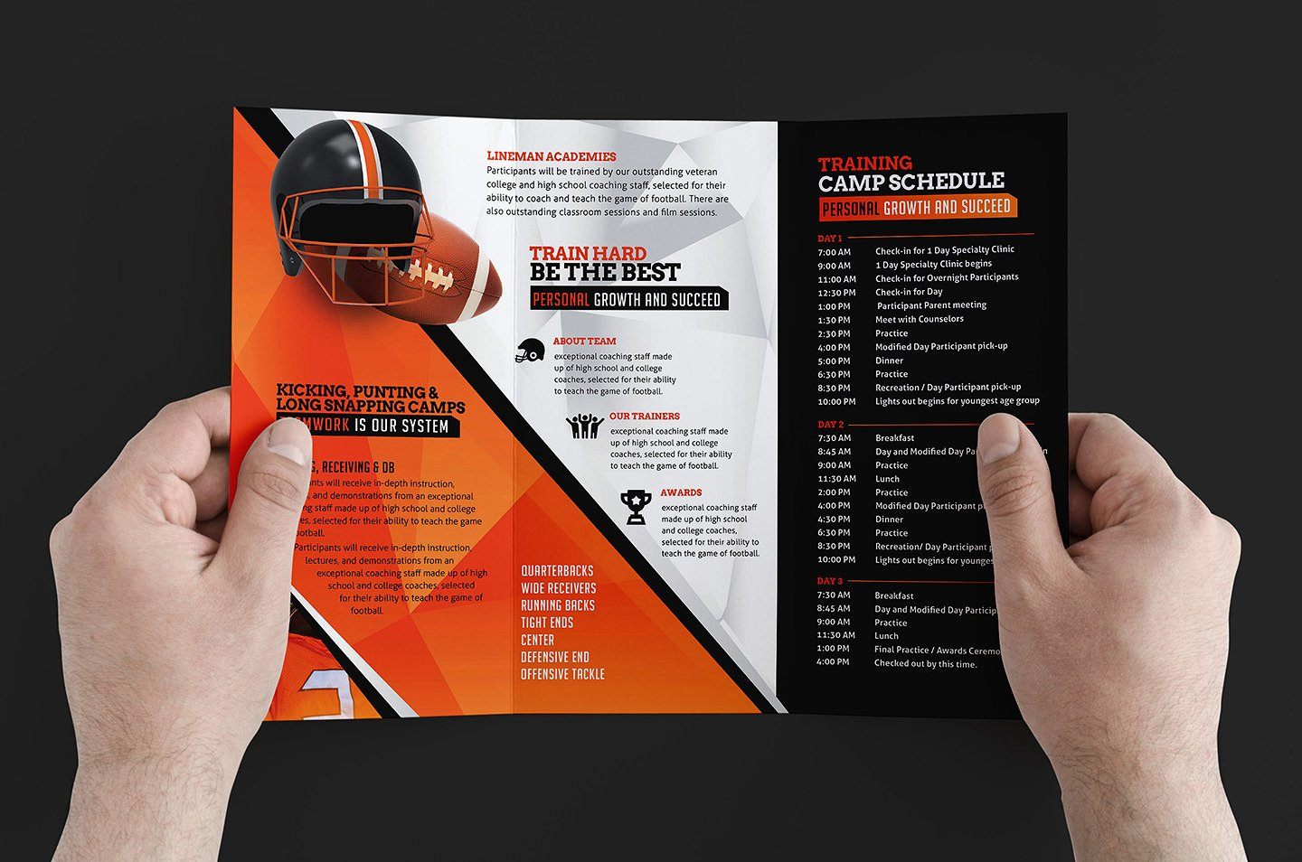 Free 12+ Training Brochure Designs In Word | Psd | Ai | Eps Regarding Training Brochure Template