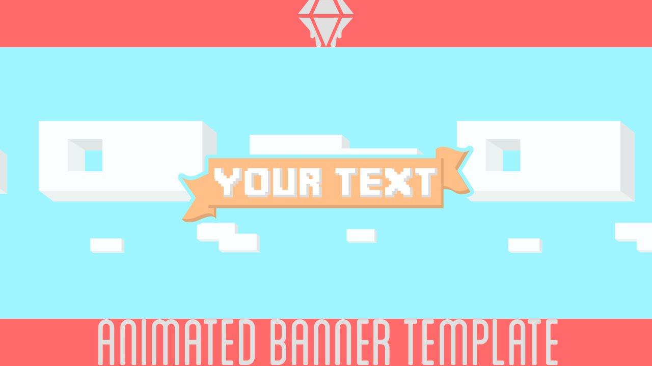 Free Animated Banner   Template   Liquiddiamondd Throughout Animated Banner Template