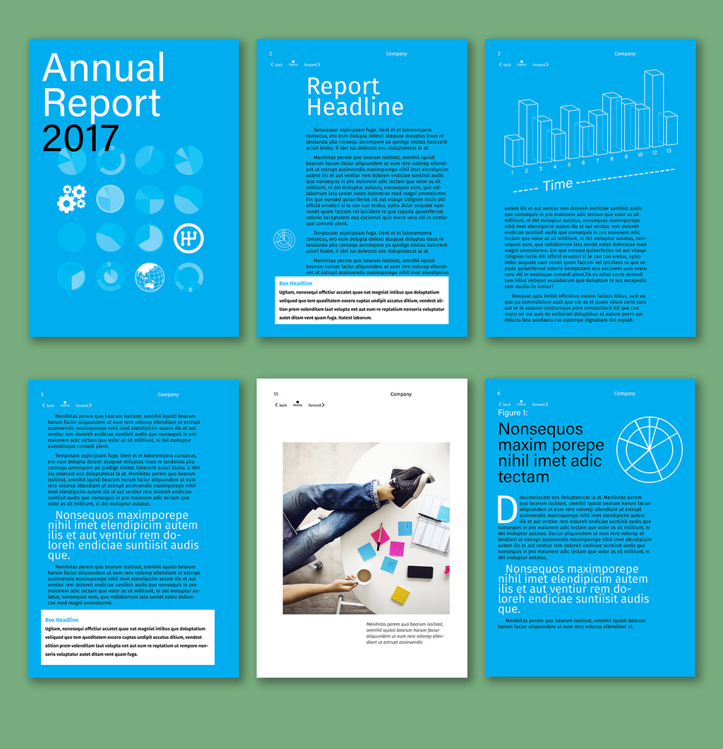 Free Artist Made Templates Now In Indesign | Creative Cloud For Ind Annual Report Template