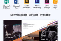 Free Automotive Brochure | Brochure Templates & Design 2019 intended for Brochure Templates Adobe Illustrator