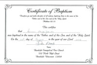 Free Baptism Certificate Template Download 200 Certificates throughout Baptism Certificate Template Word