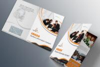 Free Bi-Fold Brochure Psd On Behance pertaining to 2 Fold Brochure Template Psd