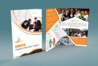 Free Bi-Fold Brochure Psd On Behance within 2 Fold Brochure Template Psd
