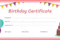 Free Birthday Gift Certificate Template In Adobe (Voucher in Fillable Gift Certificate Template Free